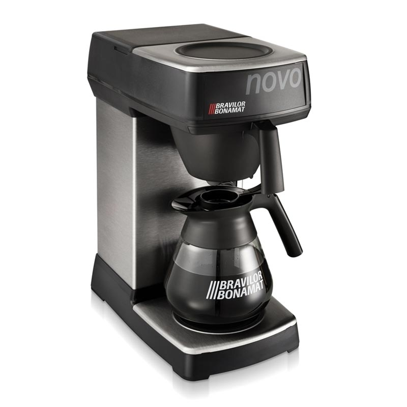 Bravilor Bonamat Novo Filtre Kahve Makinesi, Cam Potlu