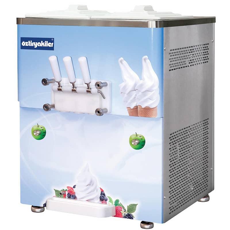Öztiryakiler 3 Kollu Dondurma Makinesi, Set Üstü, 2x6 lt