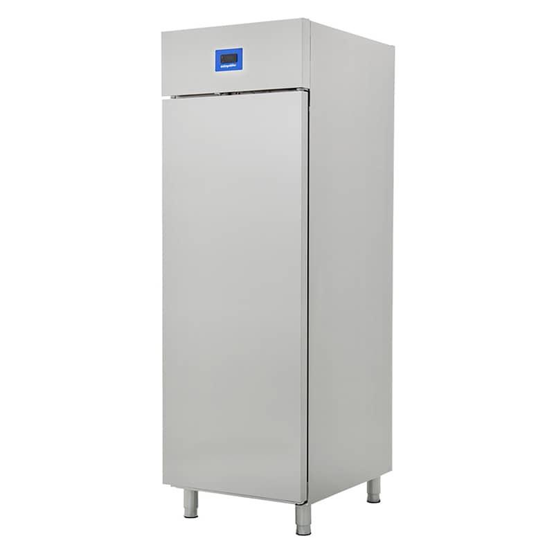 Öztiryakiler Tek Inox Kapılı Dik Tip Buzdolabı, Ekonomik, Gn 600 Ntv Model