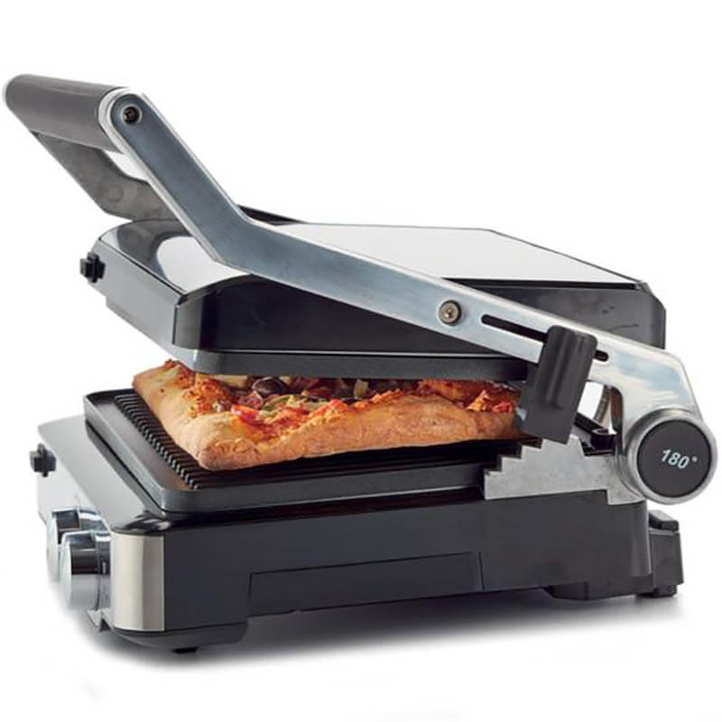 Kenwood Tost Makinesi ve Izgara, 2000 W, HGM80.000SS