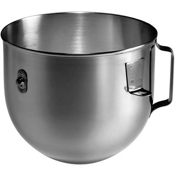 Kitchenaid 4,8 L Ağır Hizmet Tipi Stand Mikser İçin Paslanmaz Çelik Kase - K5ASB