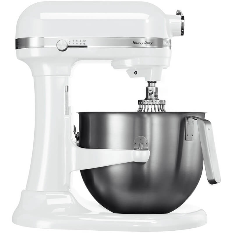 KitchenAid Heavy Duty Mikser, Beyaz, 6.9 lt - 5KSM7591XEWH