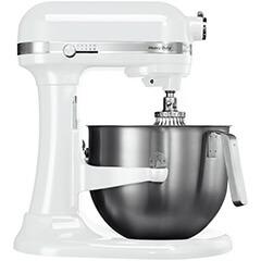 KitchenAid Heavy Duty Mikser, Beyaz, 6.9 lt - 5KSM7591XEWH - Thumbnail