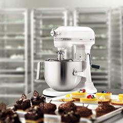 Kitchenaid - KitchenAid Heavy Duty Mikser, Beyaz, 6.9 lt - 5KSM7591XEWH (1)
