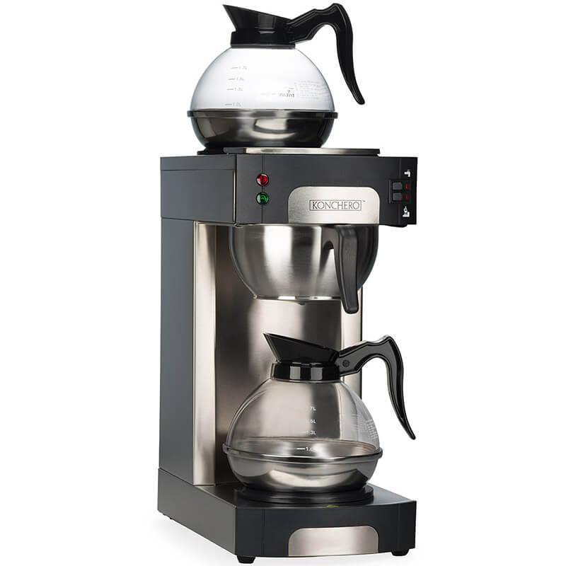 Konchero Çift Pot Filtre Kahve Makinesi