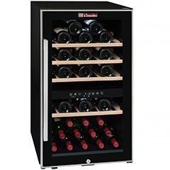 La Sommeliere - La Sommeliere Çift Bölmeli Şarap Dolabı, ECS 50.2Z (1)