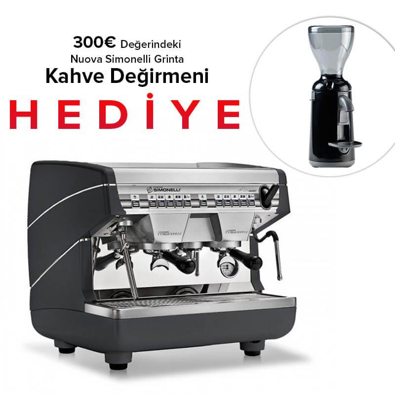 Nuova Simonelli Nuosi Appia 2CVG, Compact Espresso Kahve Makinesi