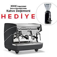 Nuova Simonelli Nuosi Appia 2CVG, Compact Espresso Kahve Makinesi - Thumbnail