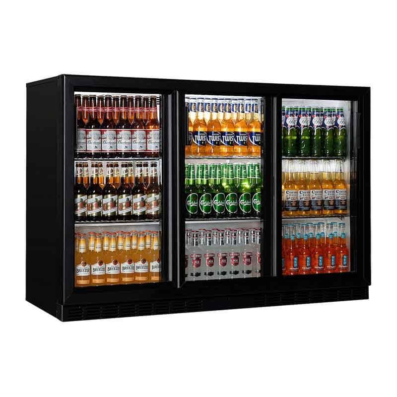 Öztiryakiler 3 Sürgülü Kapılı 320 Litre Bar Buzdolabı, Elect Model