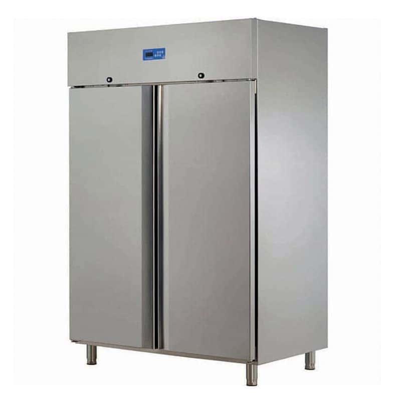Öztiryakiler Çift Kapılı Dik Tip Buzdolabı, GN 1200 NMV, ECO Model, 430 Kalite