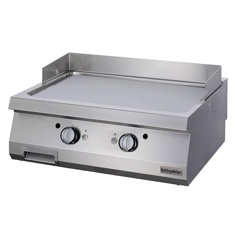 Öztiryakiler Gazlı Grill Plate, Düz, 80x90x30 cm, OGG 8090