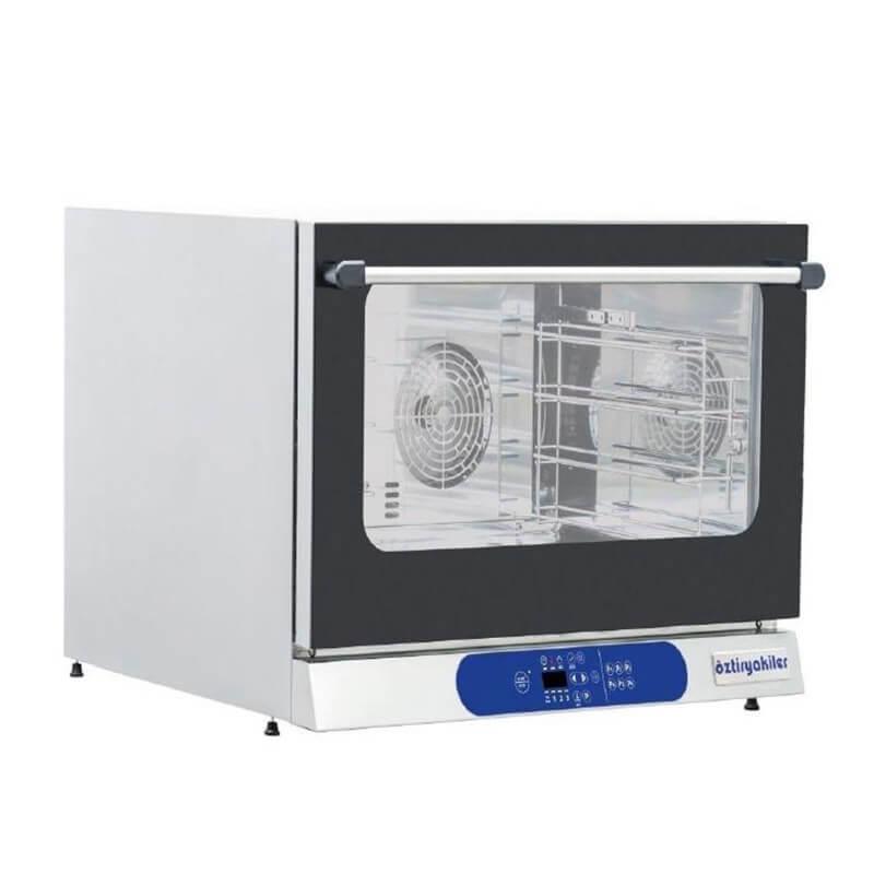 Öztiryakiler Konveksiyonlu Pastane Fırını, 4 Tepsili, Elektrikli, Dijital, 40x60 cm