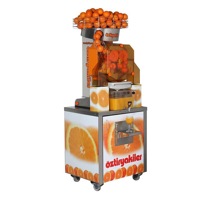 Öztiryakiler Standlı Portakal Sıkma Makinesi