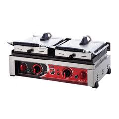 Silver - Silver Style Elektrikli Çift Kapaklı Hamburger Makinesi, 20 Dilim (1)