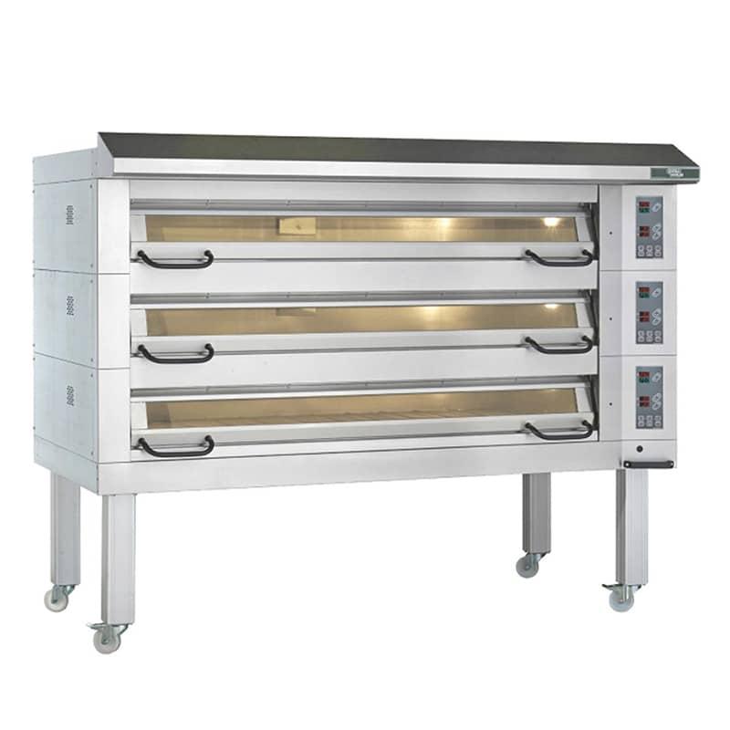 Sveba Dahlen Pasta Ekmek Fırını, 3 Katlı, 18 Adet 40x60 Tepsili