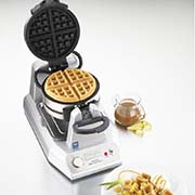 Waring - Waring WW200E Çiftli Belçika Waffle Makinesi (1)